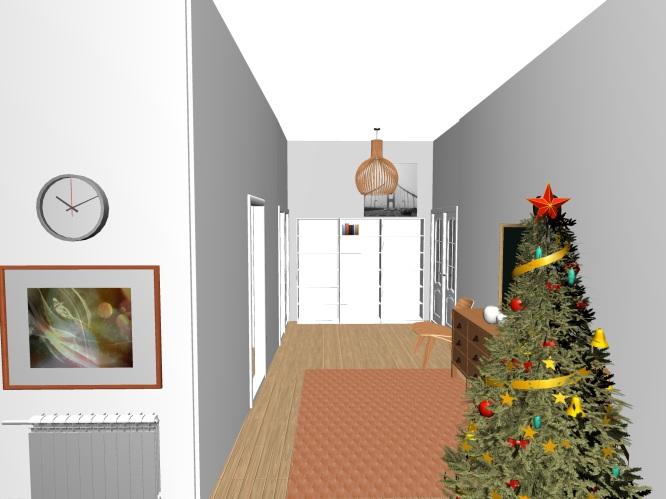 Perspectiva 1 árbol recibidor