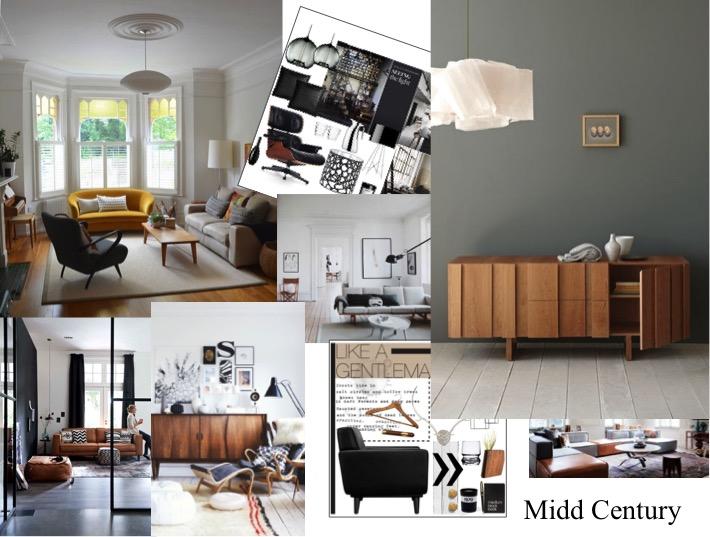 estilo midd century