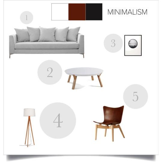 moodboaed minimalismo