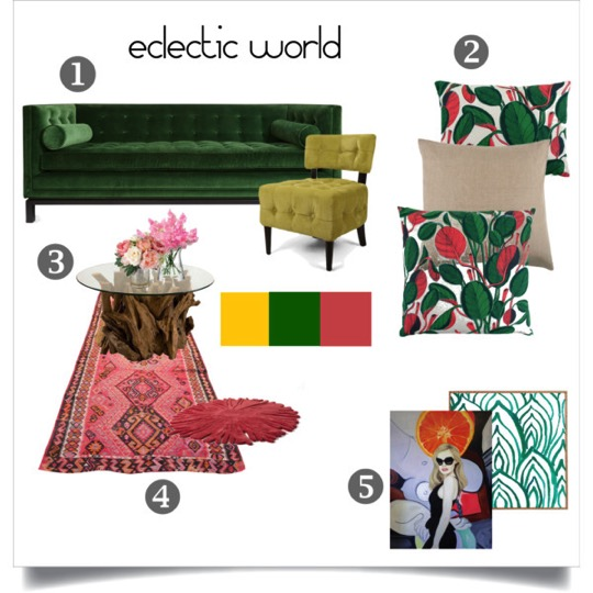 moodboard eclectic