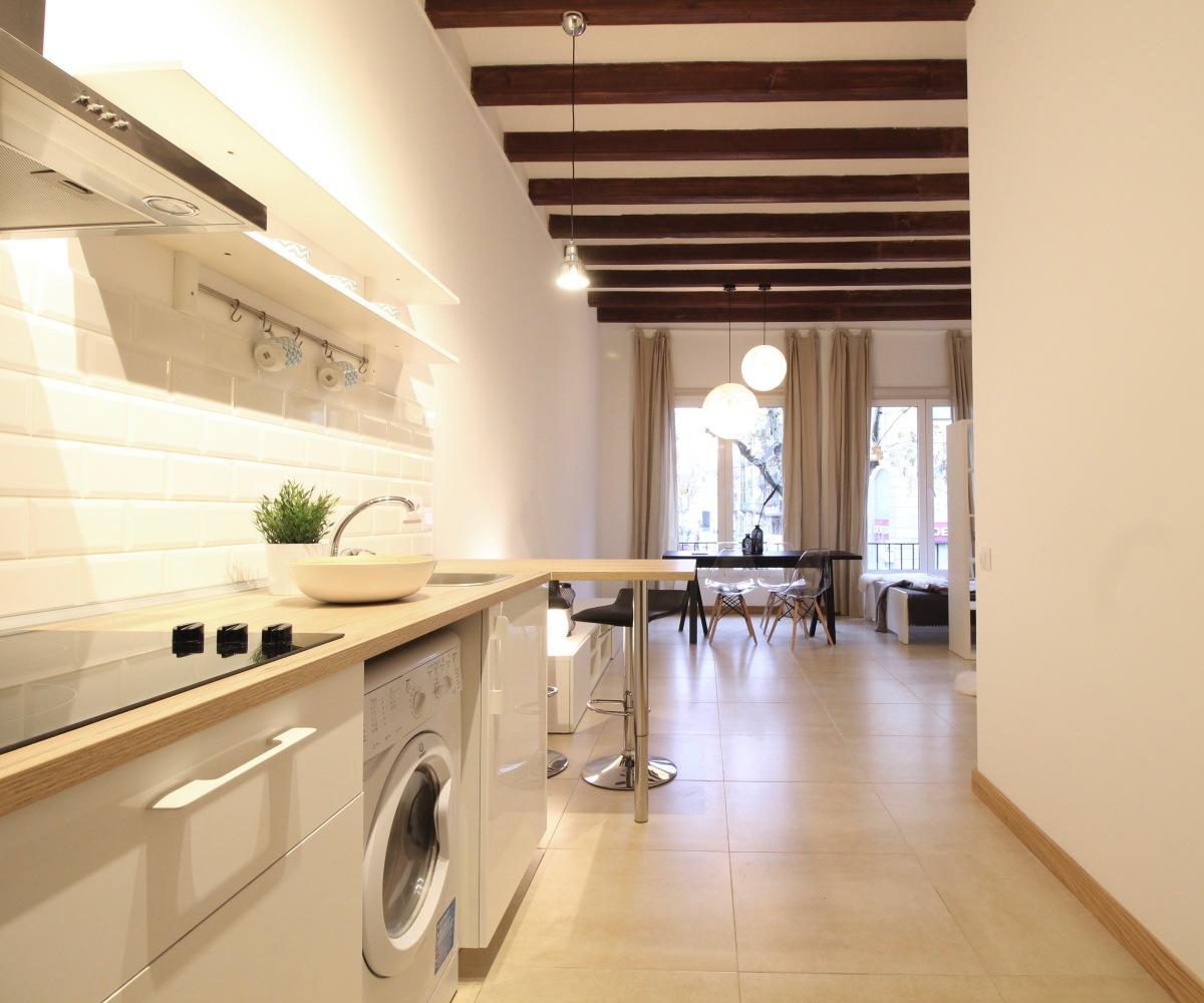 Soluciones prácticas para espacios pequeños - Before & After de 2 estudios de menos de 40 m2