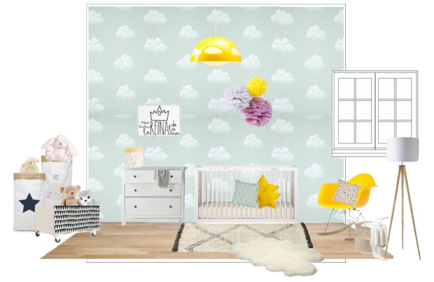 Proyecto habitación Claudia - Vista 1