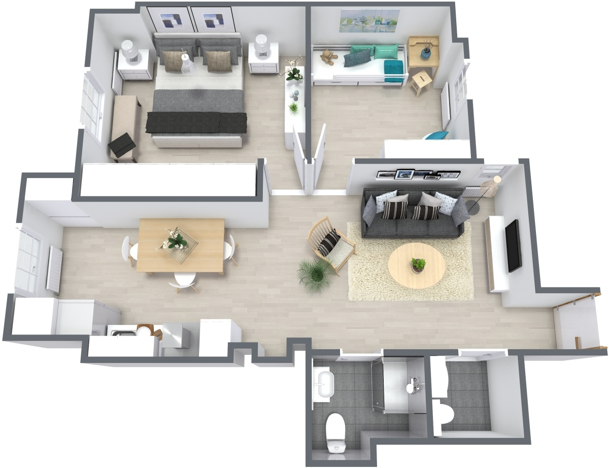 De piso de la abuela a encantador apartamento de alquiler - Nuevo proyecto Before & After en San Sebastián