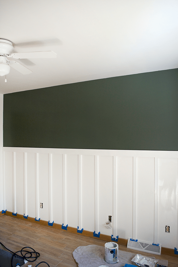 diy-board-and-batten-with-dark-accent-wall