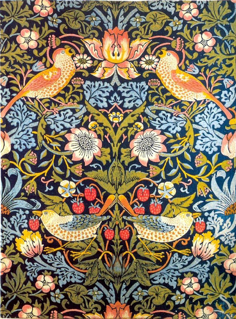 papel-para-pared-de-william-morris