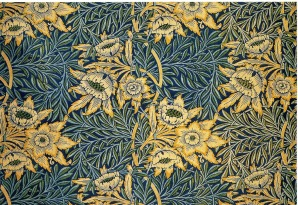 Tulip-and-willow-textile-design-by-William-Morris-produced-by-Morris-Marshall-Faulkner-Co-in-1873.